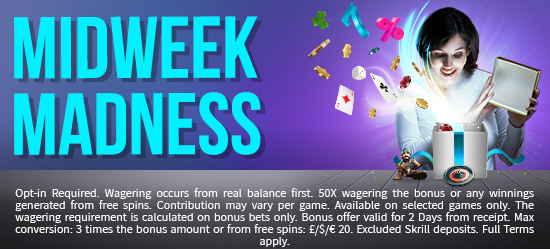 See The Midweek Madness Promo