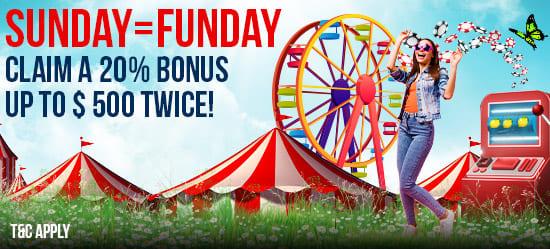 Sunday = Funday
