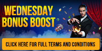 Wednesday Bonus Boost