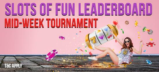 Slots of Fun Leaderboard