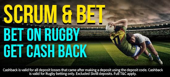 Rugby Cashback
