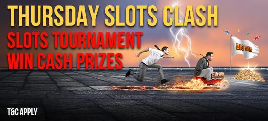 Thursday Slots Clash Leaderboard