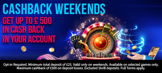 Learn about Our Table Games Cashback Offer
