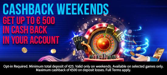 Cashback Weekends