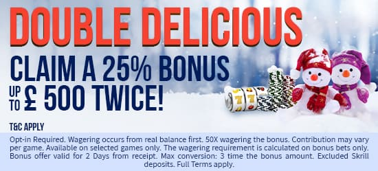 Our Double Delicious Bonus