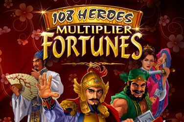 Play 108 Heroes Multiplier Fortunes Slots on HippoZino