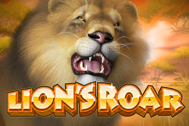 Play Lion's Roar Slots on HippoZino