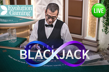 Play Infinite Blackjack Live on HippoZino