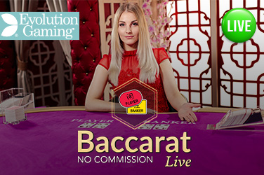 Play No Commission Baccarat Live on HippoZino