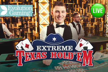 Play Extreme Texas Hold'em Live on HippoZino