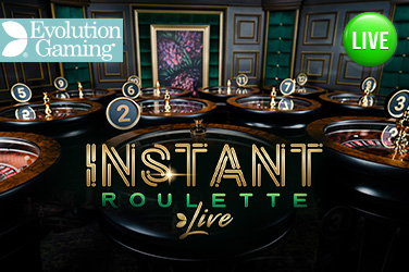 Play Instant Roulette Live on HippoZino