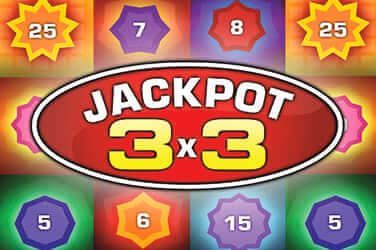 Play Jackpot 3x3 Casual on HippoZino
