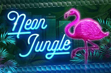 Play Neon Jungle Slots on HippoZino