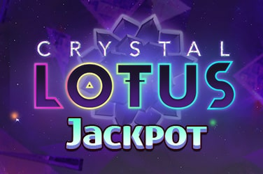 Crystal Lotus Jackpot Slot