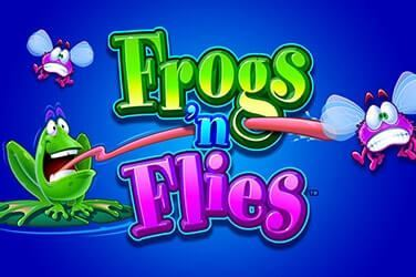 Claim your freespins and Play Frogs 'n Flies Slots at Hippozino Online Casino