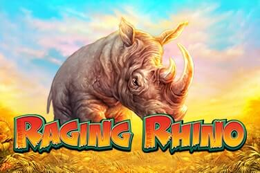 Play Raging Rhino Slots on HippoZino
