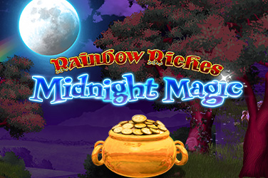 Play Rainbow Riches Midnight Magic Slots on HippoZino