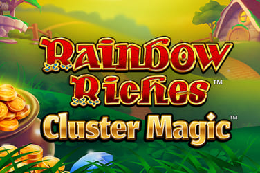 Play Rainbow Riches Cluster Magic Slots on HippoZino