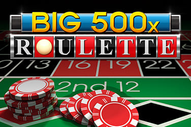 Play Big 500 Roulette Casino on HippoZino