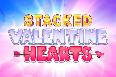 Play Stacked Valentine Hearts Slots on HippoZino