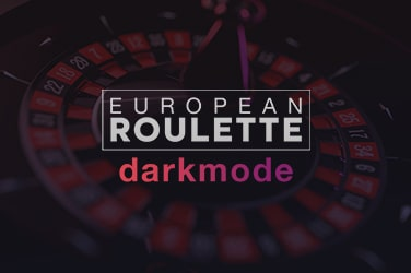Play European Roulette Darkmode Casino on HippoZino