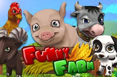 Play Funny Farm Jackpots on HippoZino