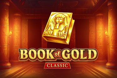 Play Book of Gold Classic Slots on HippoZino