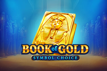 Play Book of Gold Symbol Choice Slots on HippoZino