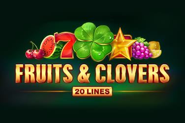 Play Fruits & Clovers: 20 Lines Slots on HippoZino