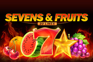 Play Sevens & Fruits: 20 lines Slots on HippoZino
