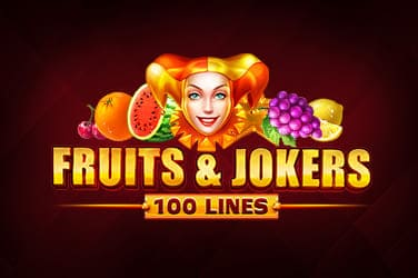 Play Fruits & Jokers: 100 Lines Slots on HippoZino