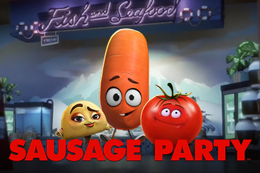 Play Sausage Party Slots on HippoZino
