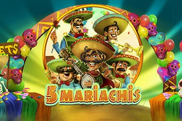 Play 5 Mariachis Slots on HippoZino