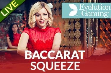 Play Baccarat Squeeze Live on HippoZino