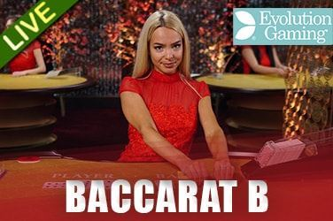Play Baccarat B Live on HippoZino