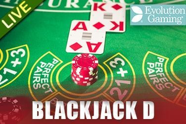 Play Blackjack D Live on MaxiPlay Casino