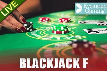 Play Blackjack F Live on HippoZino