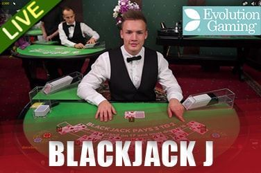 Play Blackjack J Live on HippoZino