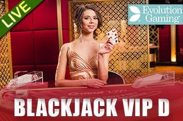 Play Blackjack VIP D Live on HippoZino