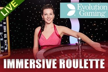 Play Immersive Roulette Live on HippoZino
