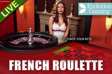 Play French Roulette Gold Live on HippoZino