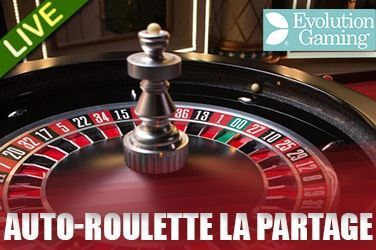Play Auto-Roulette La Partage Live on MaxiPlay Casino