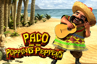 Play Paco and the Popping Peppers Slots on HippoZino