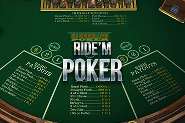 Play Ride'm Poker Casino on HippoZino