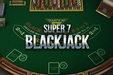Play Super 7 Blackjack Casino on HippoZino