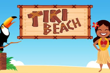 Play Tiki Beach Slots on HippoZino