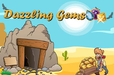 Play Dazzling Gems Slots on HippoZino