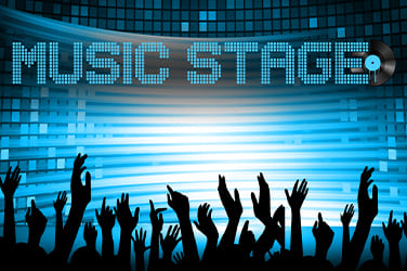 Play Music Stage Slots on HippoZino