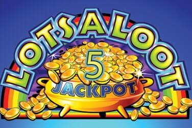 Claim your freespins and Play Lots a Loot 5 Reel Jackpots at HippoZino Online Casino
