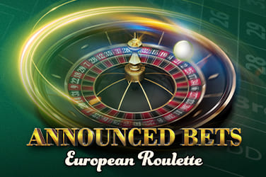 Play European Roulette Announced Bets Casino on HippoZino